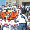 Mine Workers pledge to save health insurance and pensions for retirees caught in Patriot fiasco