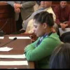 UFCW Local 655 member Teressa Hester testifies against 'confusing, complicated and deceitful' RTW bills