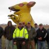 Unions picket non-union job on Plains Pipeline