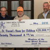 Sheet Metal Workers Local 36 raises $20,000 for St. Vincent Home for Children
