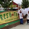 IBEW Local 1 pickets Fresh Thyme Market