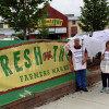 IBEW Local 1 pickets Fresh Thyme Market
