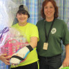 Tradeswomen brighten young girl's day at St. Louis Children's Hospital