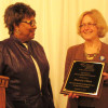 Marcia Cline receives first Community Voice Award from Missouri ARA