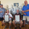 IBEW Local 1 honors veteran leaders Tom George, Tim Murray