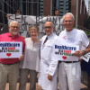 Workers, activists stage protest against Trumpcare