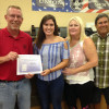 Brooke Frank receives Greater Madison County Federation of Labor scholarship for RTW essay
