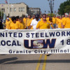 Union members, families and an appreciative public turn out for Granite City Labor Day parade