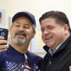 Pritzker adds Laborers' endorsement, promotes jobs plan