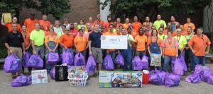 IBEW LOCAL 1 members donated $4,484 out of their own pockets to bring smiles to the faces of patients at St. Louis Children's Hospital. – Labor Tribune photo