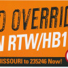 Rally to defeat RTW set for Saturday, Sept. 12, in Jefferson County