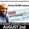 Anti-union Democrat Courtney Curtis takes $50,000 from anti-union Humphreys family