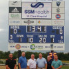 IBEW/NECA Electrical Connection Partnership donates, installs new scoreboard for Northwest School District