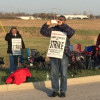 Holten Meat strikers begin 24-hour picketing