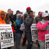 Holten Meat workers on strike for better hours, opportunity and dignity