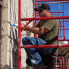 Bricklayers Local 1, Gas Workers 11-6 volunteer help for Lift for Life Gym