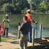 Unions donate services to rebuild dangerous fishing dock