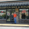 Hampton Shoe moves to new location remodeled by union hands