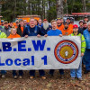 IBEW/NECA volunteers make electrical improvements to S-F Scout Ranch