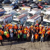 150 IBEW Local 1 volunteers turn out to help low-income, disabled and elderly St. Louisans
