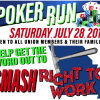 Bricklayers hosting all-union SMASH RTW poker run July 28