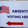 If you expect to be out of town or working late on Election Day, vote absentee