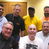 Doug Hindle, Laborers 110 member nearly killed in hit-and-run, attends first union meeting since the accident