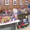 Iron Workers Local 396's 'Boy's Day Out' luncheon nets a sleigh full of toys for hospitalized children and needy families