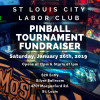 St. Louis City Labor Club to host pinball fundraiser Jan. 26