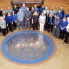 Sheet Metal Workers Local 36 observes #WearBlueDay for Human Trafficking Awareness