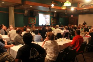 ABOUT 60 PEOPLE attended the St. Louis Workers' Rights Board's annual breakfast Sept. 20 at Maggie O'Brien's.