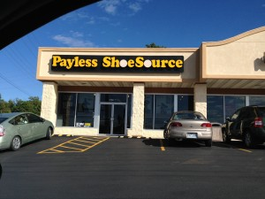 Rolla –– PAYING LESS? After a year's talks for a first contract, Payless Shoe Source, 603 S Bishop Ave, is wanting to pay its employees less than other stores under contract with UFCW Local 655.