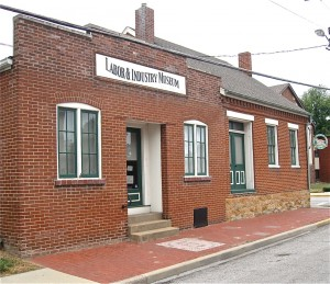 THE BELLEVILLE LABOR & INDUSTRY MUSEUM is on Church Street just north of downtown.  – Labor Tribune photo