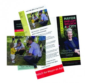 U CITY HAD NO COMPLAINTS when Mayor Shelley Welsch used an on-duty, in uniform police officer in her re-election campaign brochure in direct conflict with the city's own regulations. Yet fire fighters, working off-duty and not in uniform are suspended for three months without pay. Where's the justice here?!