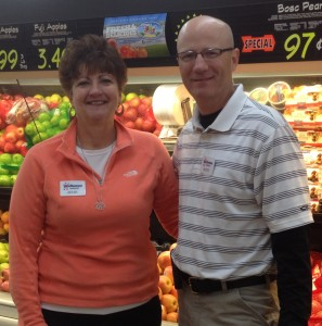 OWNERS Julie Dampier (left) and Scott Kohrs have been in the grocery business all their lives. – Labor Tribune photo