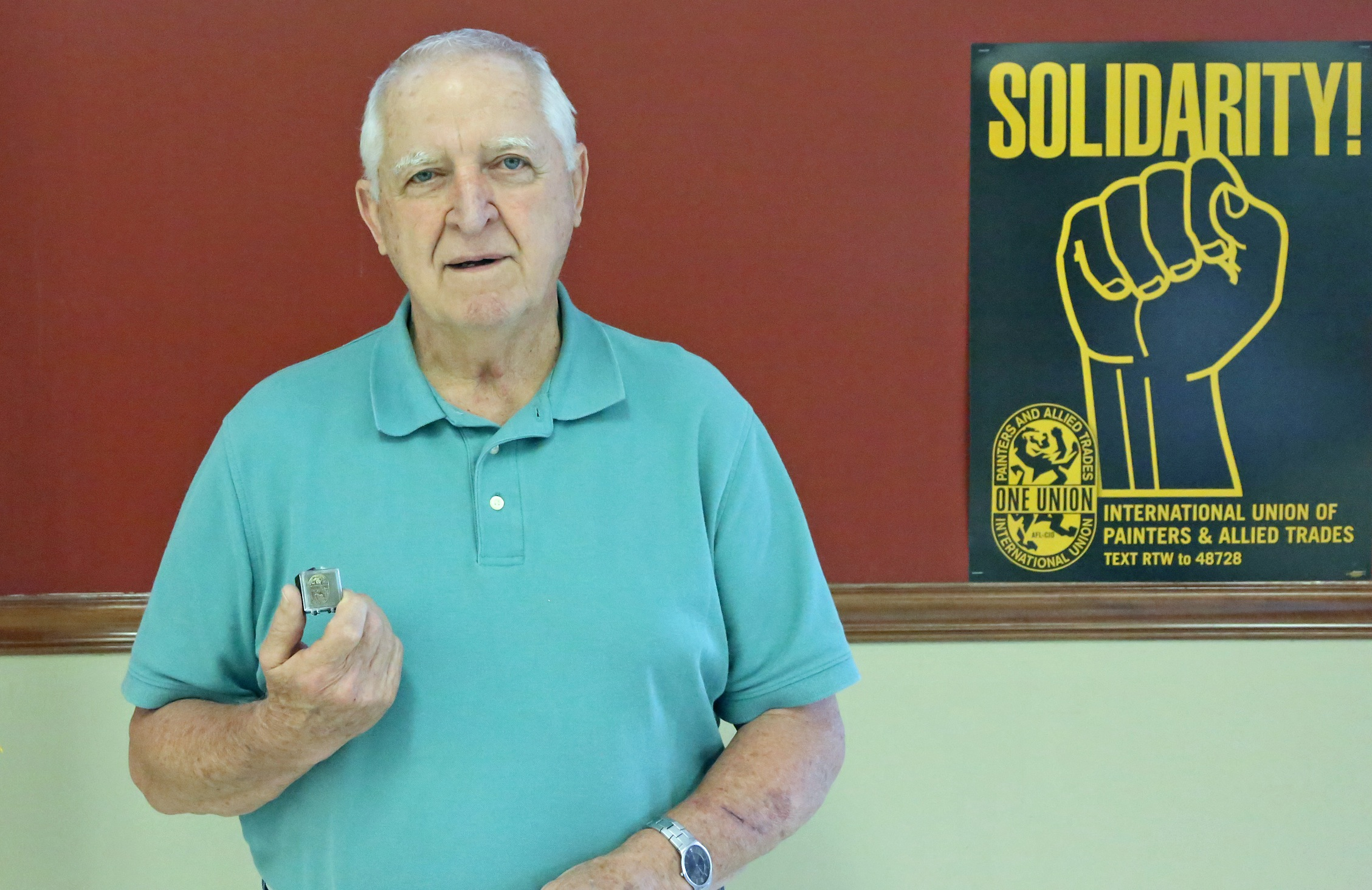 Dan Valleroy received his 55-Year pin.