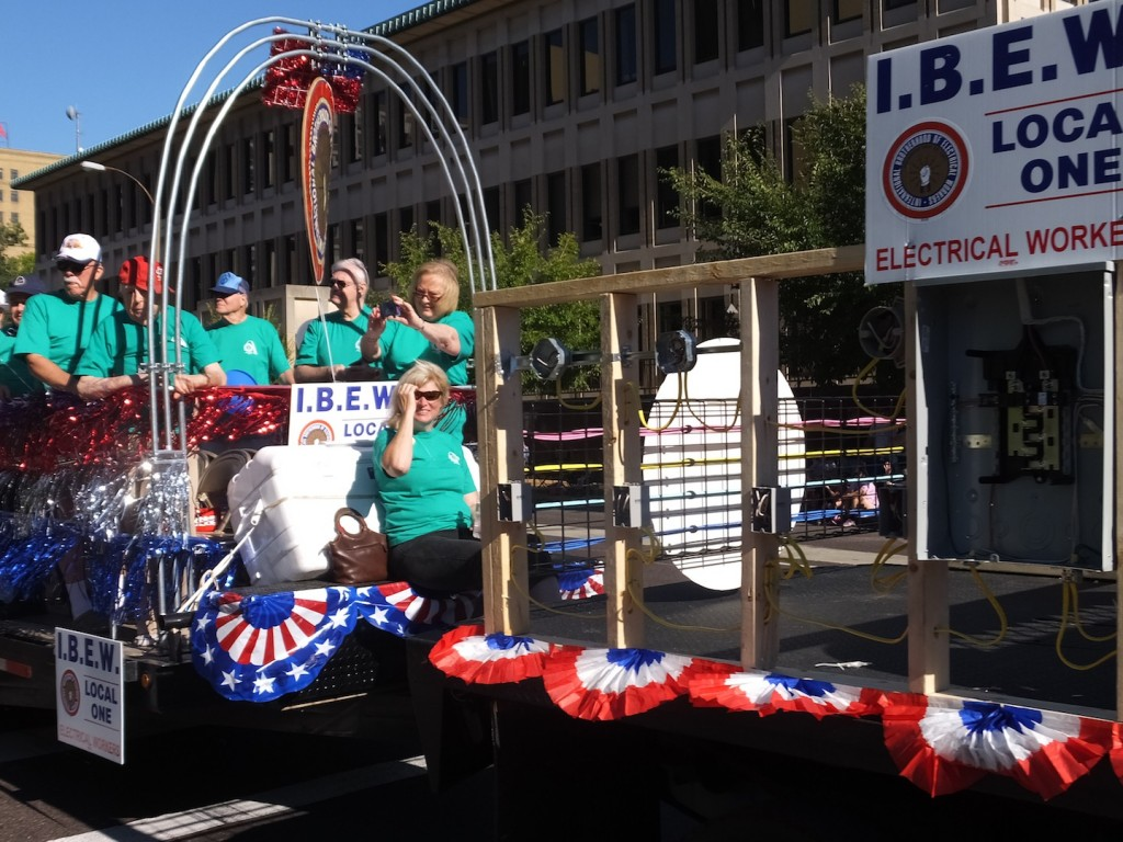 IBEW locals will occupy the second spot(s) in this year's parade.