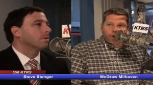 TRANSPARENCY is something Council Councilman Steve Stenger believes in and practices to ensure residents have a full understanding of the council's actions. As a result, he is a frequent guest on local media outlets. Stenger has been a frequest guest on KTRS radio with host McGraw Milhaven, who noted on one show how Stenger has agreed to discuss issues on the air on numerous occasions, while County Executive Charlie Dooley had steadfastly refused.