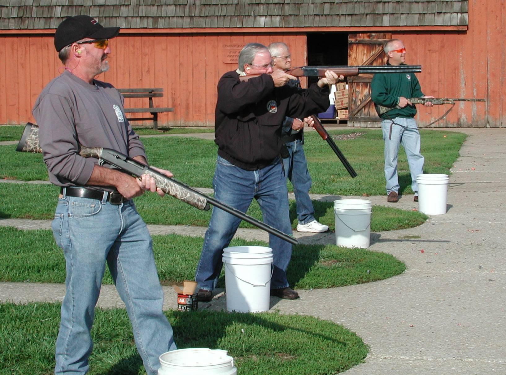 AIMING TO HELP – The United Way, union members and their friends are invited to take part in the 7th Annual Labor/United Way Trap Shoot & BBQ Friday, Sept. 12. – Labor Tribune file photo