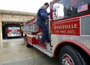 WENTZVILLE FIRE PROTECTION District is seeking voter approval of two proposals on the Aug. 5 ballot to build and staff new firehouses to reduce response times in the district. – St. Louis Post-Dispatch photo