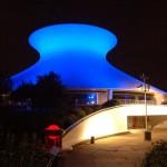 Planetarium blue