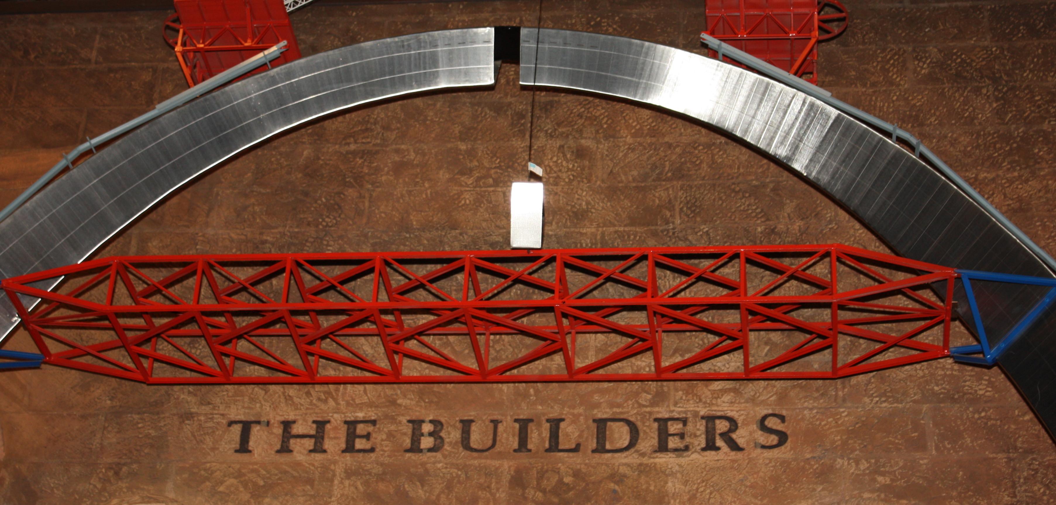 St Louis Gateway Arch  Red Tablerunner