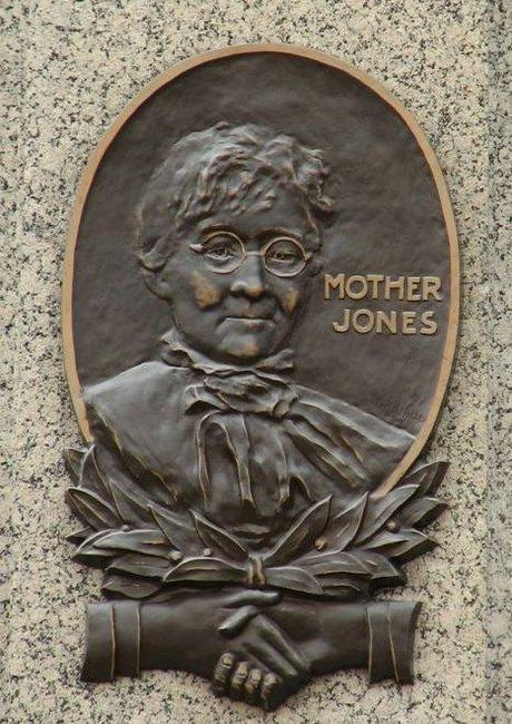 Mother Jones Plaque