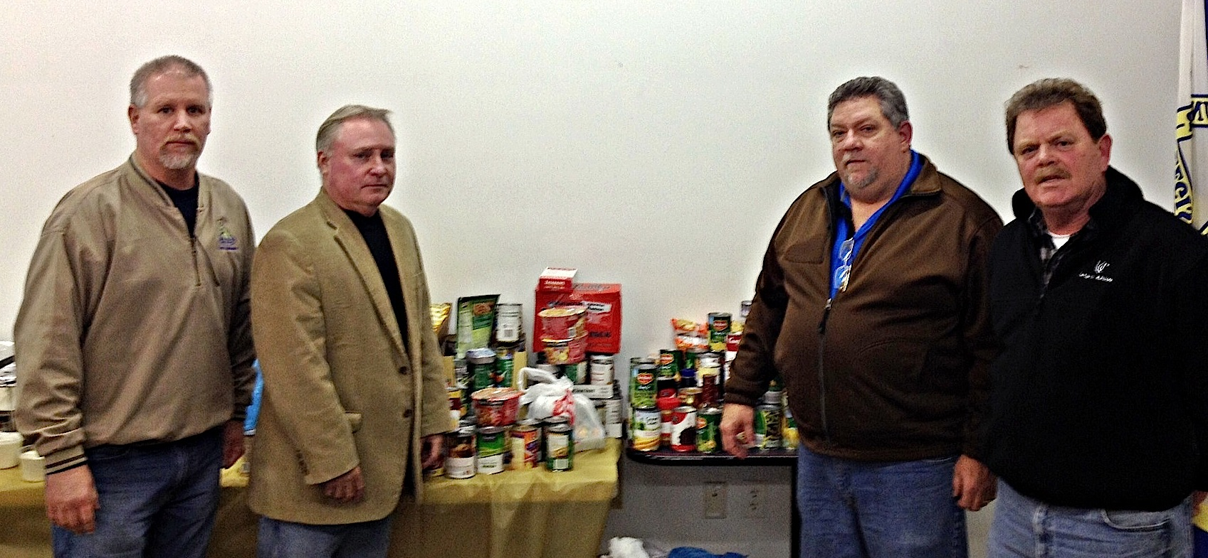 Tri Co Labor food drive