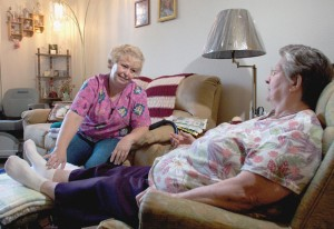 HOME CARE WORKERS provide vital daily support to our elderly and disabled, but most make barely enough to get by.