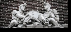 Miners Sculpure