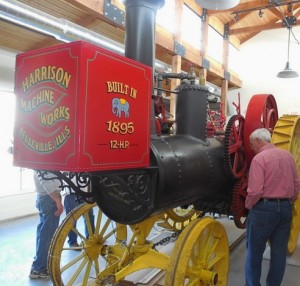 HISTORIC STEAM DRIVEN TRACTOR