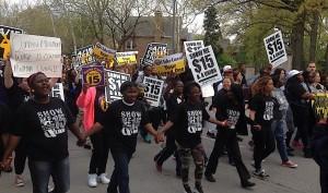 Low Wage Marchers