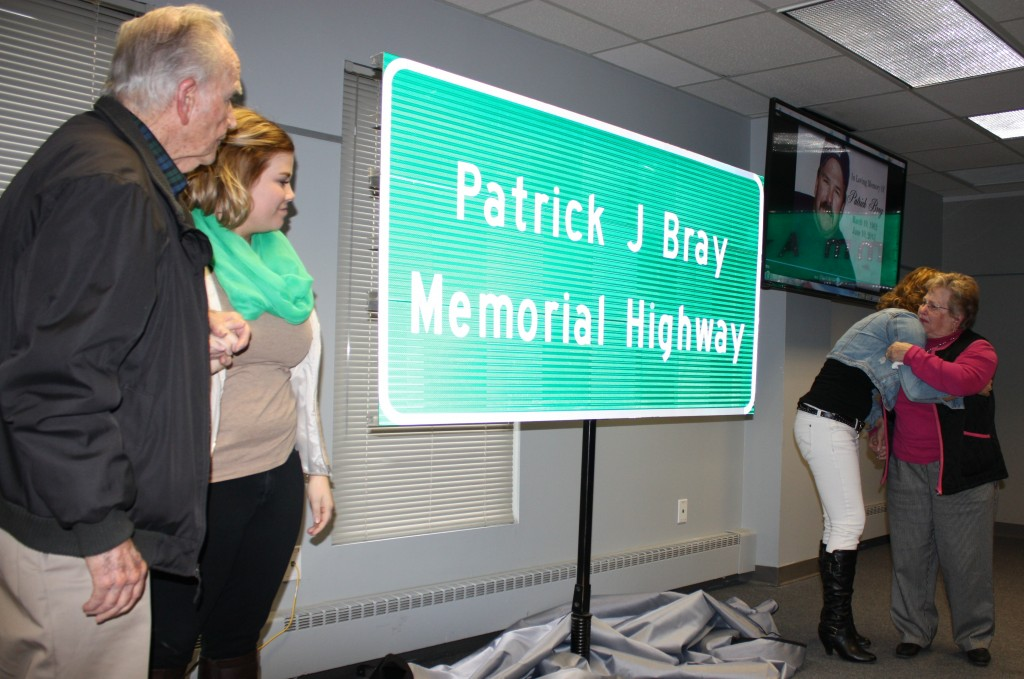 Pat Bray sign