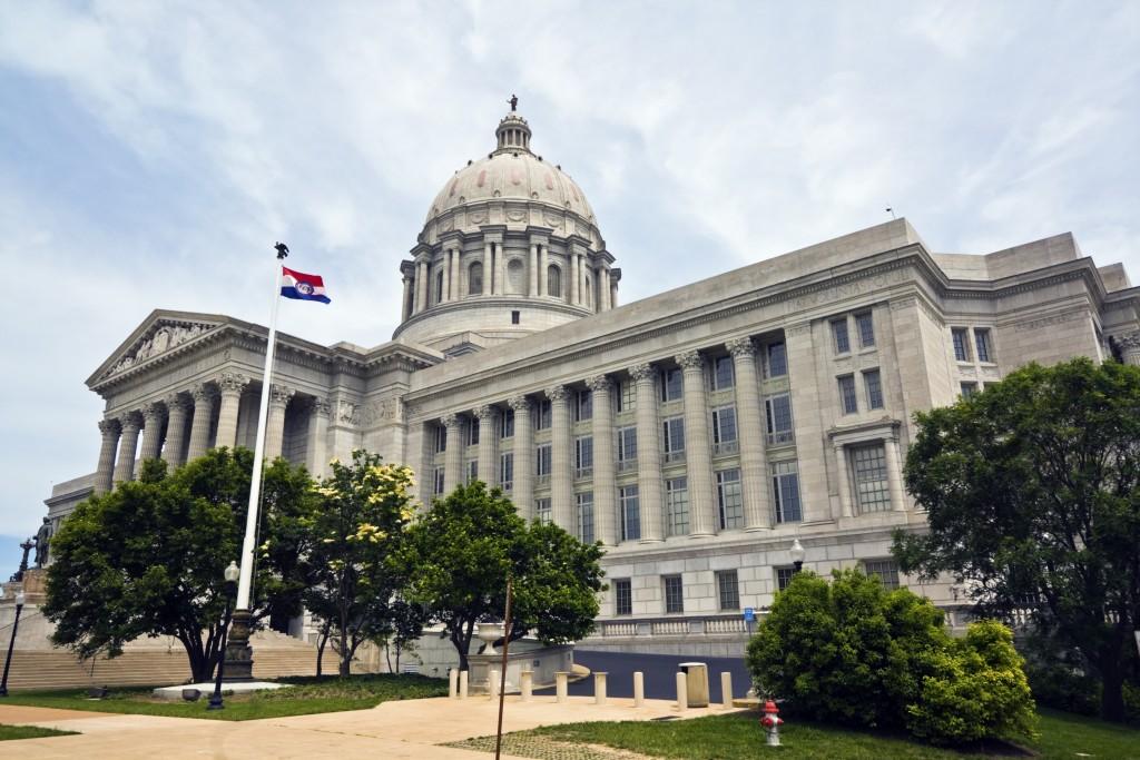 State Capitol of Missouri in Jefferson City.